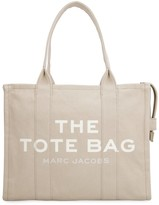 Marc Jacobs The Traveler Canvas Tote Bag