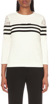Claudie Pierlot Torres cotton-jersey sweatshirt