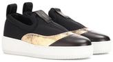 McQ Platform slip-on sneakers
