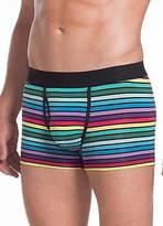 Jockey Mens Multi-Color Stripe Trunk