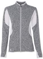 adidas A199 Golf Women's Space Dyed Full-Zip Jacket Lead M