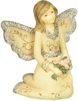 Element April Monthly Angel Figurine, Includes Diamond Birthstone, 3-Inch
