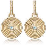 Kiki McDonough Fantasy Diamond Earrings with Detachable Blue Topaz Drop