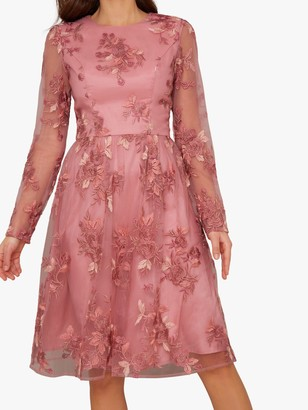 Chi Chi London Vester Dress, Pink