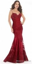 Morrell Maxie Rhinestone Embellished Lace Corset Evening Dress