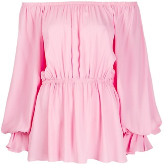Pinko Elasticated Long-Sleeve Blouse
