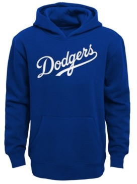 Outerstuff Little Boys Los Angeles Dodgers Wordmark Pullover Fleece Hoodie