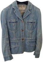 Max Mara Blue Denim - Jeans Leather jackets