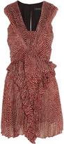 Isabel Marant Macy printed silk-chiffon mini dress