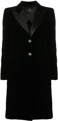Etro Engraved Button Coat