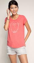 Esprit OUTLET slogan t-shirt