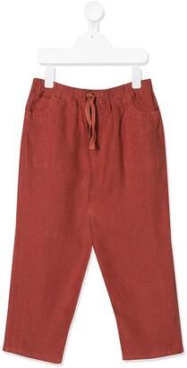 Caramel Aldgate drawstring trousers