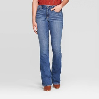 Universal Thread Women's High-Rise Flare Jeans - Universal ThreadTM Medium Wash