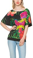 Desigual Women's Knitted T-Shirt Short Sleeve 156