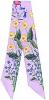Gucci Kids floral print scarf