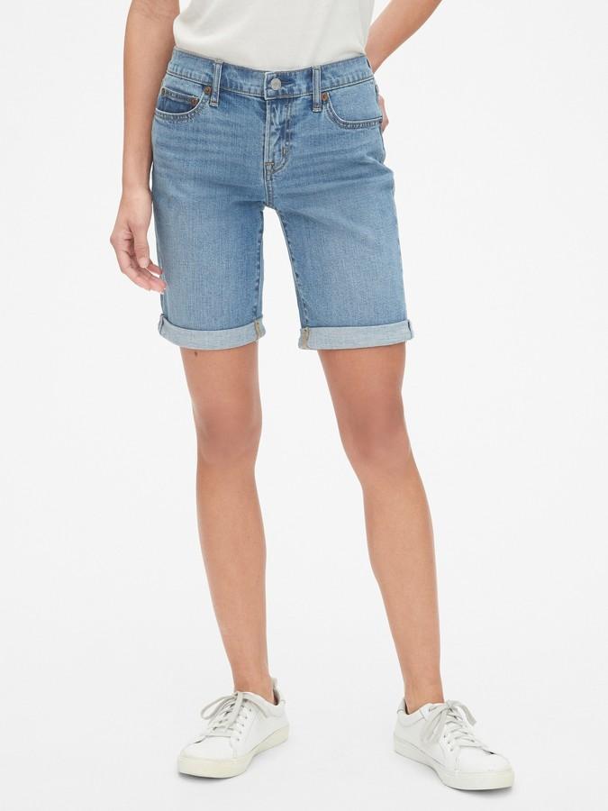 498eb50572 Denim Shorts Mid Thigh - ShopStyle