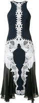 Jonathan Simkhai lace applique contoured dress - women - Acetate - 0