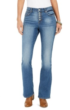 Style&Co. Style & Co Button-Fly Boot-Cut Jeans, Created for Macy's