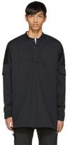 Cottweiler Black Utility Windbreaker Shirt