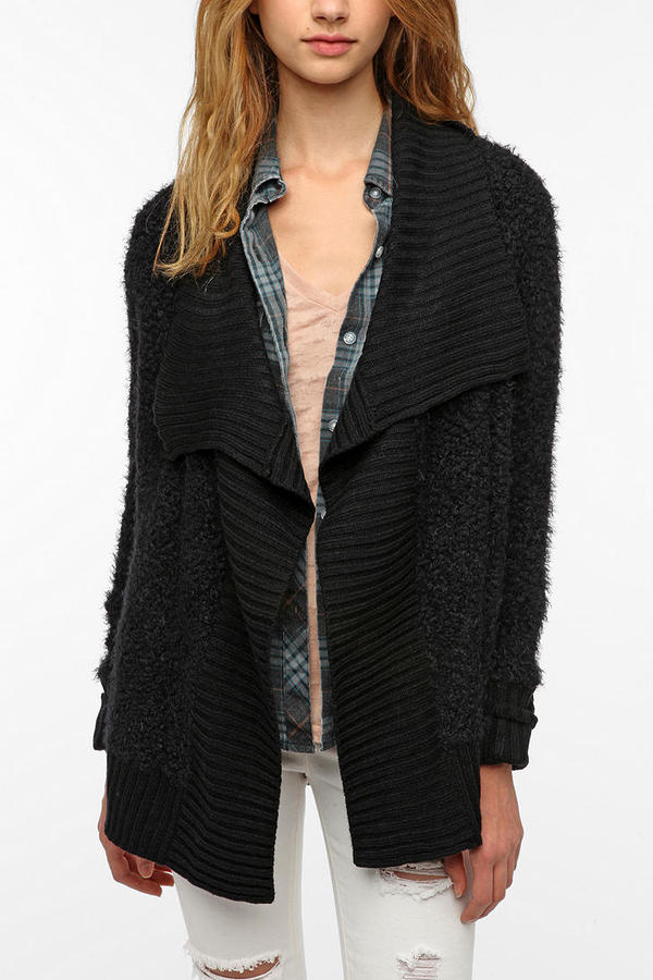 Urban Outfitters Staring at Stars Boucle Cardigan