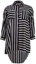 Koko Contrast Stripe Pocket Shirt