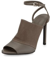 Vince Grace Leather Ankle-Strap Sandal, Driftwood