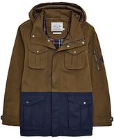 Joules Breakwater Waterproof 4 Pocket Jacket, Dark Pine
