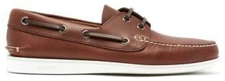 Church's Marske Leather Deck Shoes - Mens - Brown