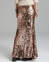 Free People Maxi Skirt - Sequins for Miles