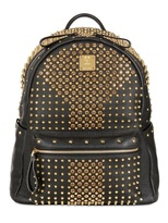 MCM Medium Backpack Stark Studded Backpack