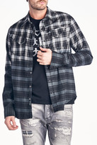 Cult of Individuality Clint Plaid Long Sleeve Regular Fit Shirt