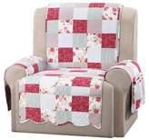 Sure Fit Pink Heirloom Cottage Patchwork Recliner Furniture Cover