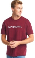 Gap The archive re-issue logo crewneck tee