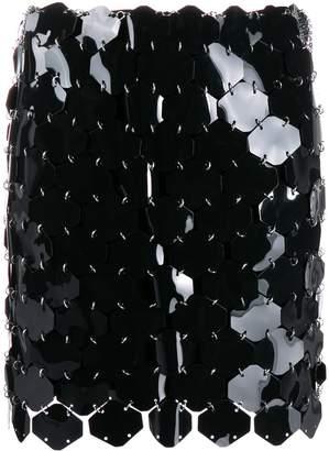 Paco Rabanne sequin mini-skirt