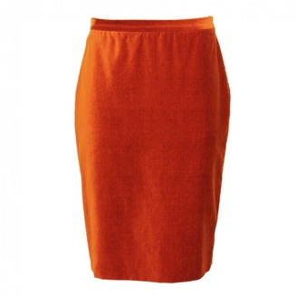 Moschino Orange Cotton Skirt for Women