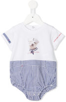 Lapin House - dog print bodie - kids - Cotton - 3 mth
