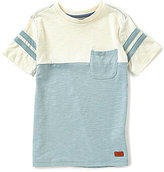 7 For All Mankind Big Boys 8-20 Color Block Short-Sleeve Crewneck Tee