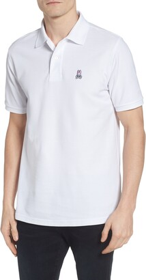 Psycho Bunny The Classic Slim Fit Pique Polo