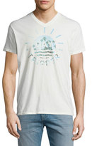 Sol Angeles Tripper Palm Tree Graphic T-Shirt, White