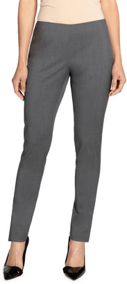 Santorelli Stretch Wool Skinny Pants