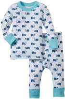 Masala Elephant PJ Set (Baby) - Navy/Blue-18-24 Months