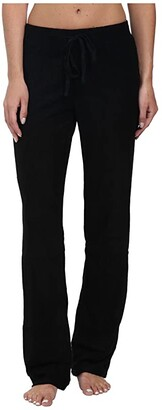N by Natori Terry Lounge Pants (Black) Women's Pajama