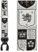 Trafalgar Men's 'Coat Of Arms' Silk Suspenders