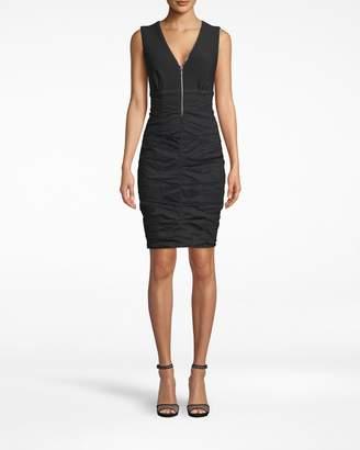 Nicole Miller Sleeveless Zipper Dress