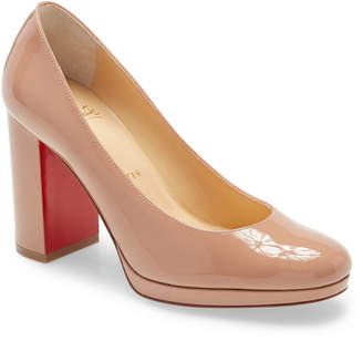 Christian Louboutin Kabetts Block Heel Pump