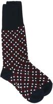 Marni Tracery print socks