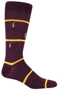 Polo Ralph Lauren Men's Striped Crew Socks