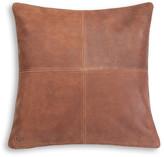 "UGG Windowpane Leather Pillow - 20"" x 20"""