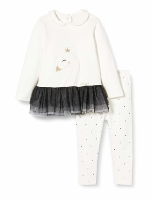 Chicco Baby Girls' Completo Abito Manica Lunga + Leggings Toddler Sleepers