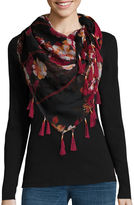 MIXIT CLASSICS Mixit Rosey Floral Scarf